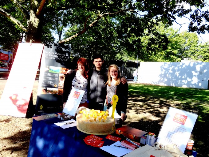 SLOW FOOD ON CAMPUS at University of Reading Freshers' Fair
