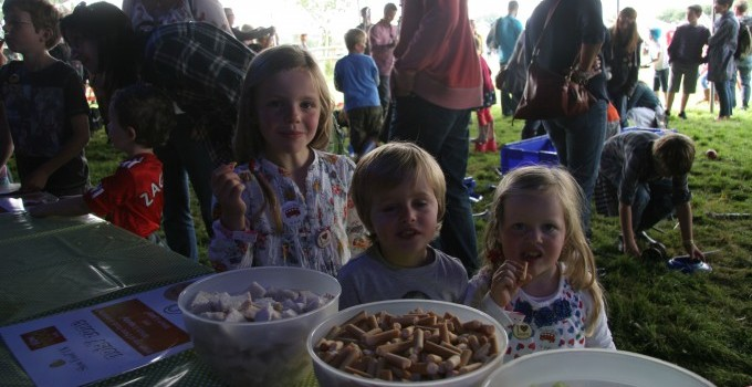 The Slow Food Kids&#039; Taste Adventure at Jamie Oliver&#039;s Big Feastival