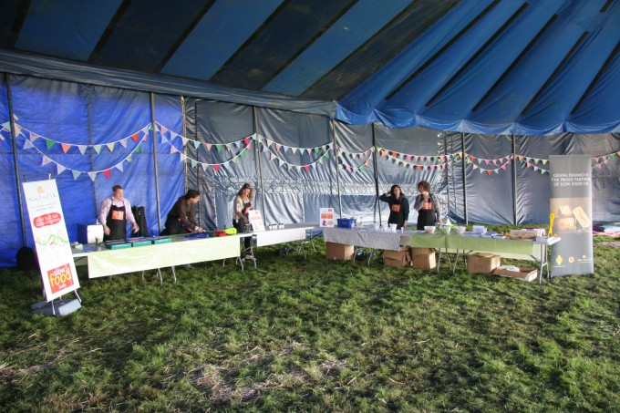 The Slow Food Kids' Taste Adventure at Jamie Oliver's Big Feastival