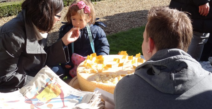 The Slow Food Kids Taste Adventure at Ham House's 'Home Grown' Food Fair