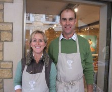 David and Jo Clarke - Leicestershire Handmade Cheese Company - Red Leicester Cheese