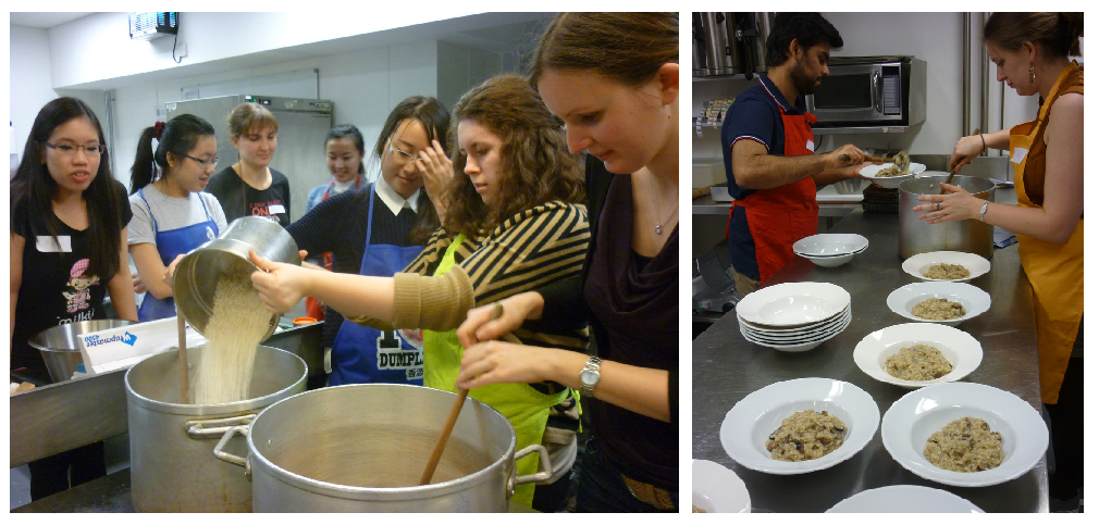 Cookery classes with Slow Food on Campus Exeter