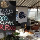 Slow Food Edinburgh Pop-up Café at Farmers' Market