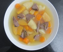 Reestit Mutton and Tattie Soup