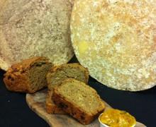 Einkorn Loaf, Confit Onion and Somerset Cheddar