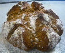 Peasemeal Soda Bread