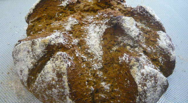 Peasemeal Soda Bread