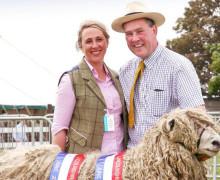 Ian and Louise Fairburn - Risby Grange Longwools - Lincoln Longwool Sheep
