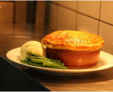 Steak and Smoked Oyster Pie
