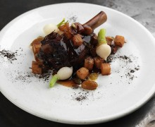 Mutton with Medlar and Pine Ash