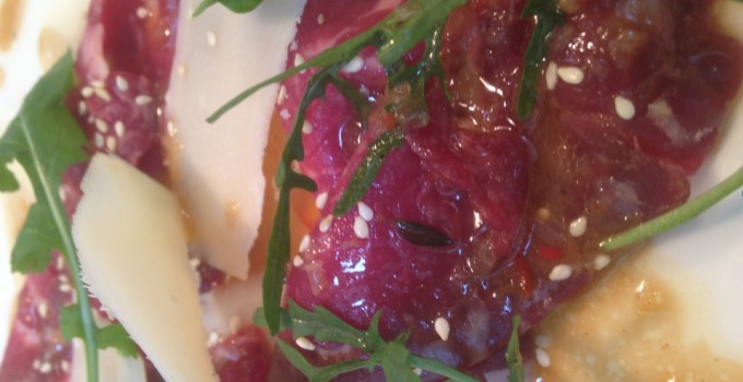 Blue Grey Beef Carpaccio