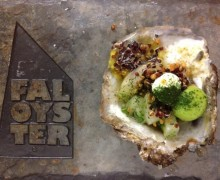Marinated Fal Oyster Ceviche