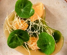 Scallops with Parsnip and Hampshire Watercress