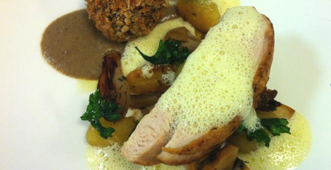 Free Range Chicken with Sillfield Farm Haslet