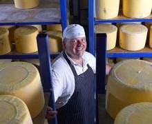 Graham Kirkham - Mrs Kirkham's Dairy - Artisan Double Curd Lancashire Cheese