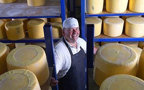 Graham Kirkham – Mrs Kirkham's Dairy – Artisan Double Curd Lancashire Cheese