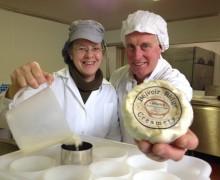 Jane and Alan Hewson - Belvoir Ridge Creamery - Colwick Cheese