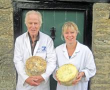 Mike Davies - Woodbridge Farm - Artisan Dorset Blue Vinny Cheese