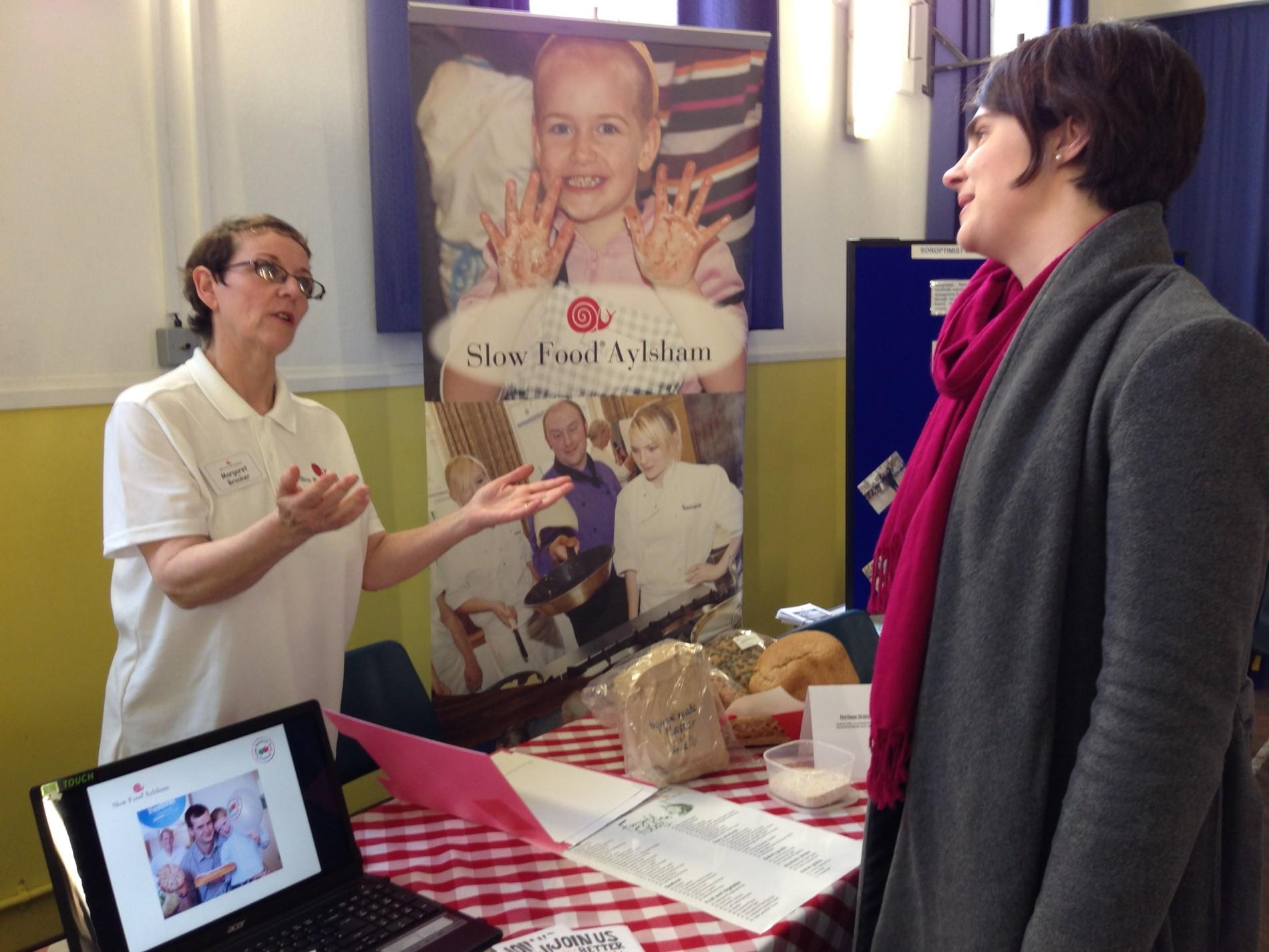 Slow Food Aylsham helps celebrate International Women's Day
