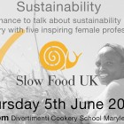 Slow Food Week 2014 | Talk on Sustainability: a unique chance to talk with 5 inspiring female professionals in the food industry