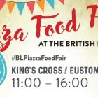 Piazza Food Fayre at the British Library