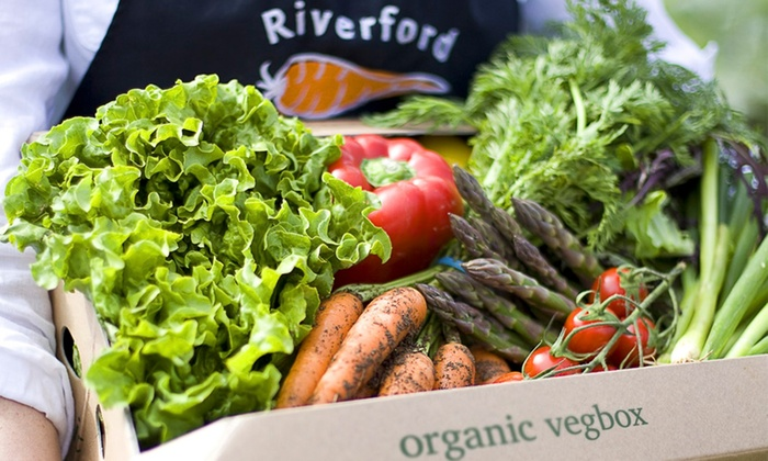 Win a Riverford Medium Veg Box, every week for 3 months