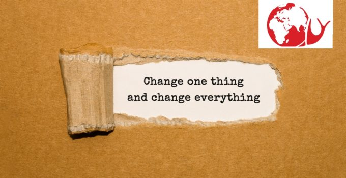 Change one thing – 1