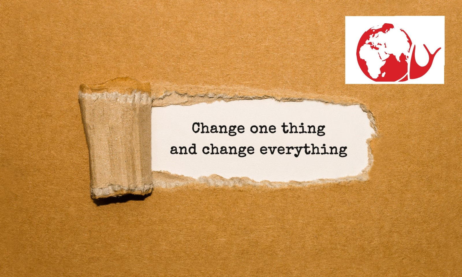 Change one thing - 1