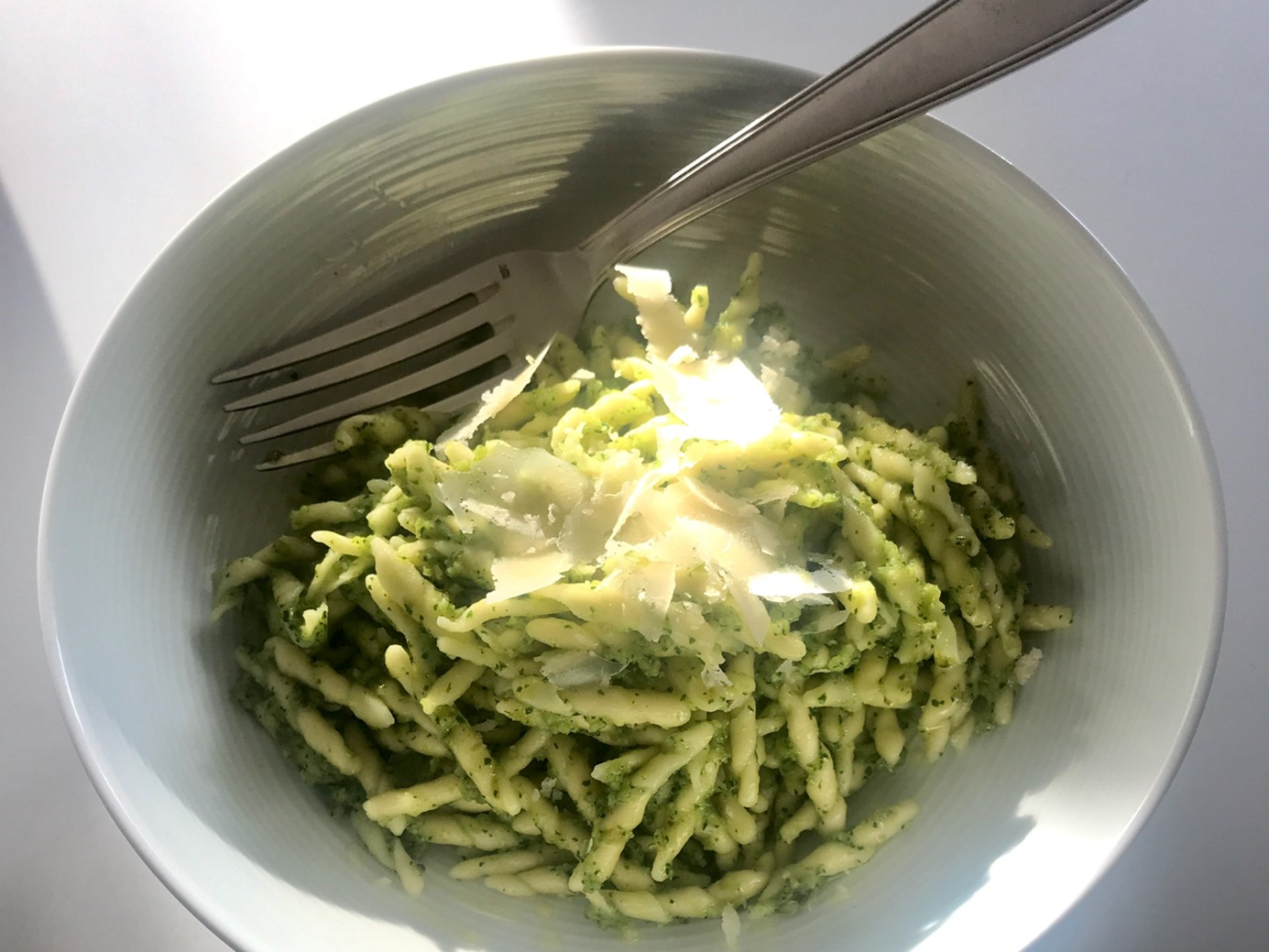 One pesto at a time