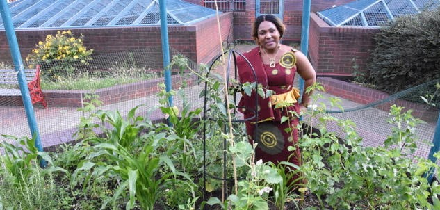 'Where we come from you don't buy vegetables, you grow them'